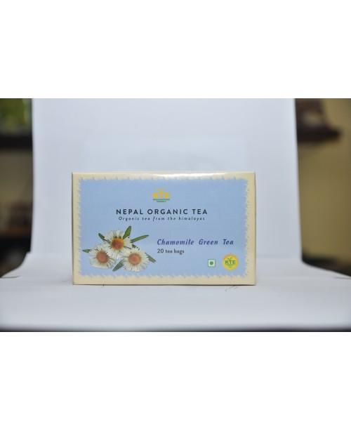 Organic Chamomile Green Tea 20/1 Teabags...