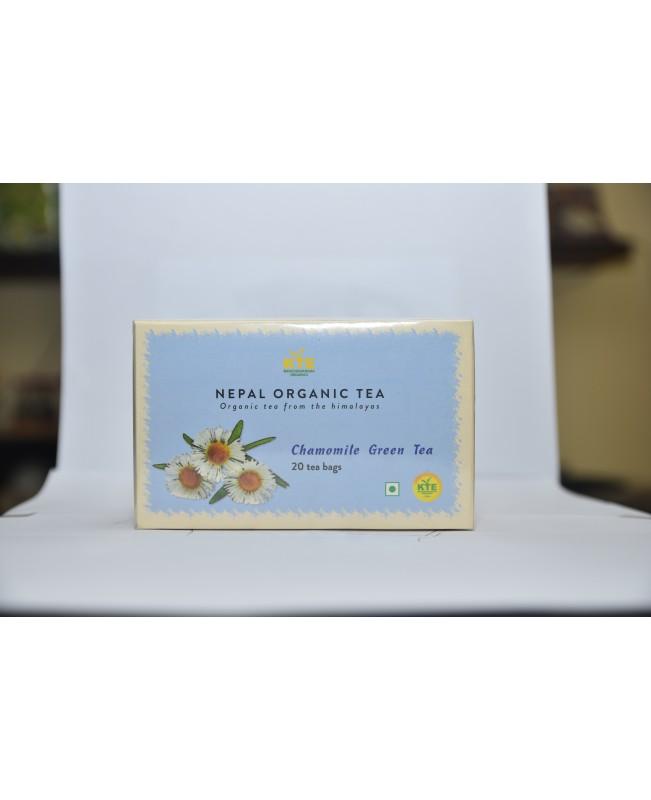 Corganic hamomiole Green Tea 20/1 Teabag...