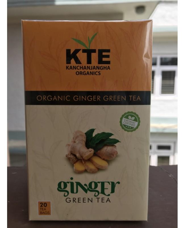 Orgnic Ginger Green Tea
