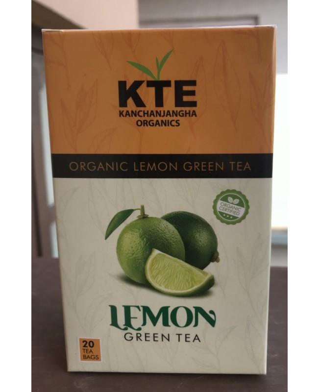 Organic Lemon Green Tea